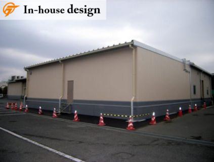 ぎょうざの満洲 坂戸工場 倉庫増築工事
