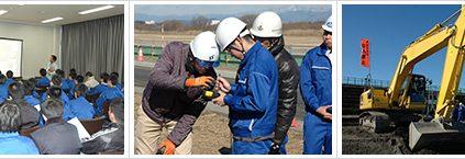 2月2日 埼玉県立熊谷工業高等学校さん 「施工現場見学会」報告
