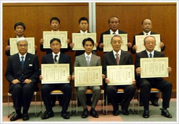 埼玉県県土づくり優秀建設工事施工者及び優秀現場代理人等として表彰されました