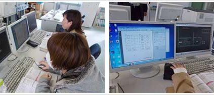 埼玉県立熊谷高等技術専門校にてJw-cad研修を受講しました。