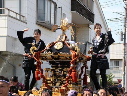 深谷まつり(八坂祭り)