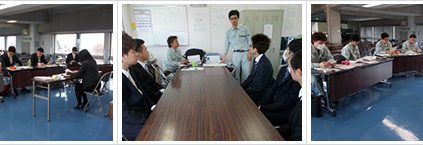 4月1日、4月4日、4月5日に社内研修が行われました。