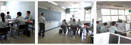 埼玉県熊谷高等技術専門校にて、社外研修が始まりました。