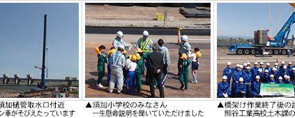 4月15日(金)、現場見学会を開催しました。