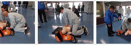 平成29年1月19日・20日AED研修が行われました。