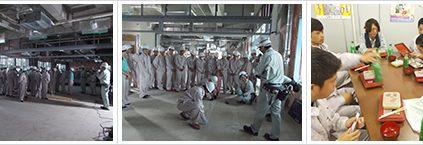 埼玉県の建設業界初、ものづくり体感事業の見学会