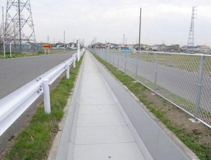 25大里第1701号左幹線用水路工事