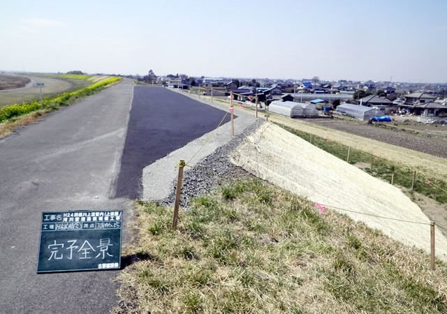 H24利根川上流管内(上流部)河川管理施設補修工事