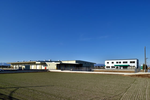 JAふかや北部営農経済センター建設工事01
