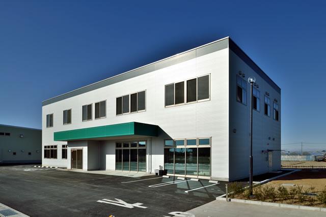 JAふかや北部営農経済センター建設工事02