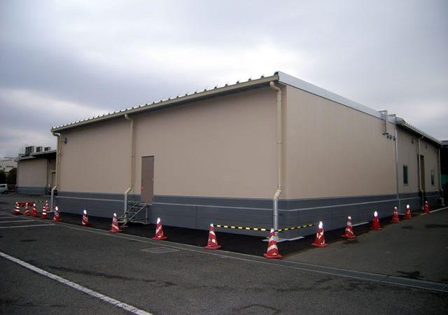 ぎょうざの満洲 坂戸工場 倉庫増築工事01