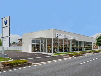 BMWモトラッドセントラル花園新築工事