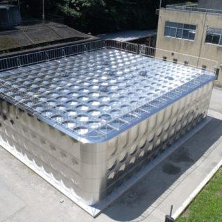 深谷市水道事業 花園第二配水場配水池新設工事