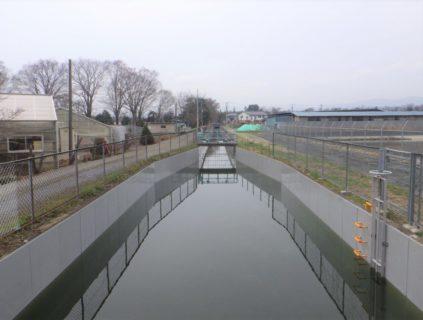 荒川中部農業水利事業 導水幹線工事(開渠その2)