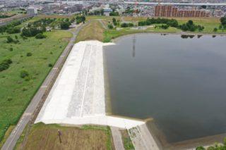 R1荒川調節池流入堤災害復旧(その2)工事